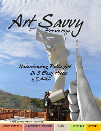 click for 'art savvy' book description